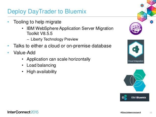 Migrating Java EE applications to IBM Bluemix platform as-a