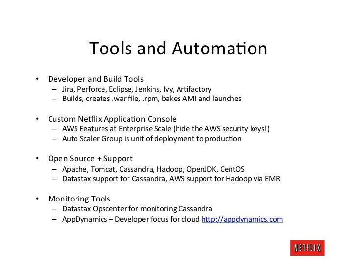 Tools and AutomaKon • Developer and Build Tools       – Jira, Perforce, Eclipse, Jenkins, Ivy, A...