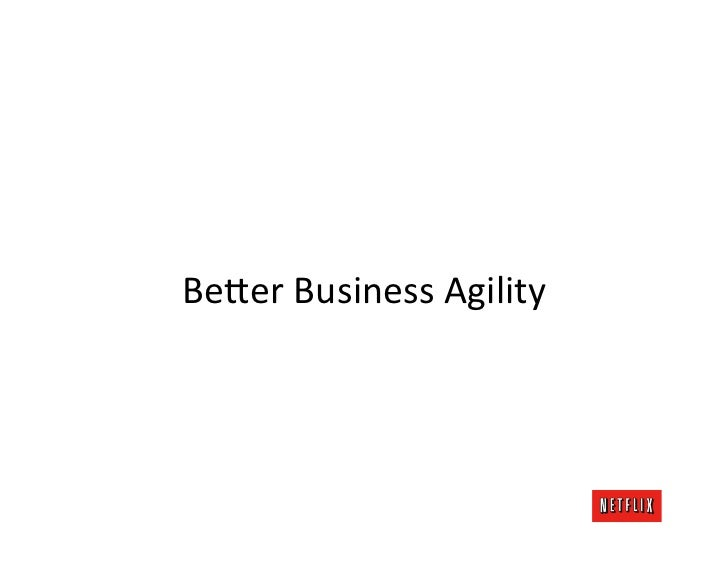 Be;er Business Agility