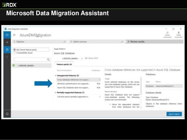 Live Demo - Migrating SQL Server to Azure SQL DB