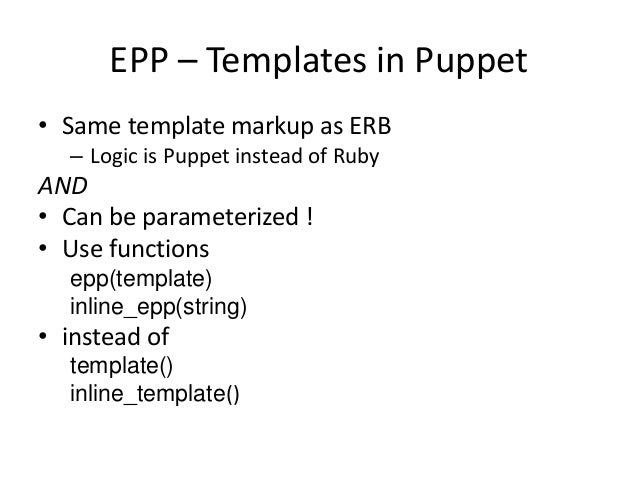 Migrating to Puppet 4 0