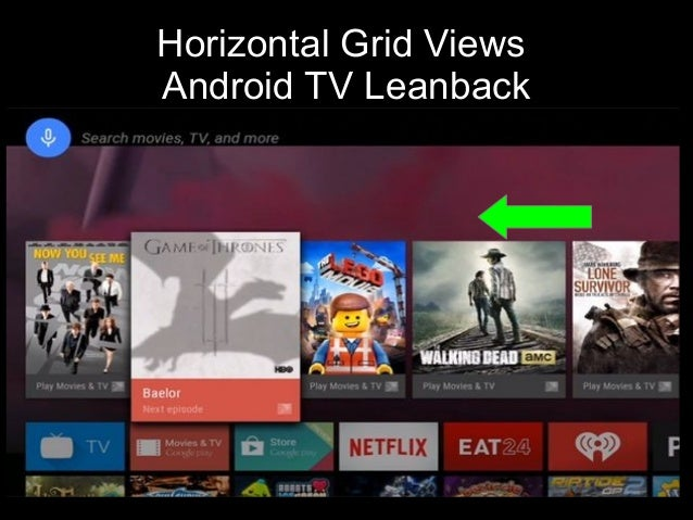 Migrating to Android TV