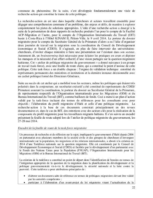 Migration 060815 3 haiti politique migratoire 03 aout - Office des migrations internationales ...