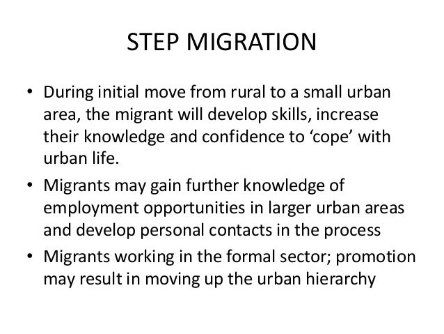impelled migration example