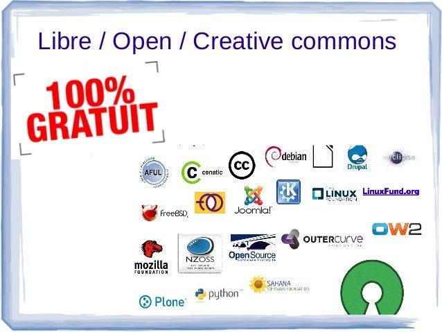 Libre/Open/Creativecommons