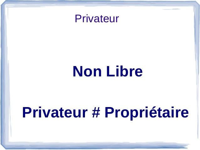 Privateur Non Libre Privateur # Propriétaire