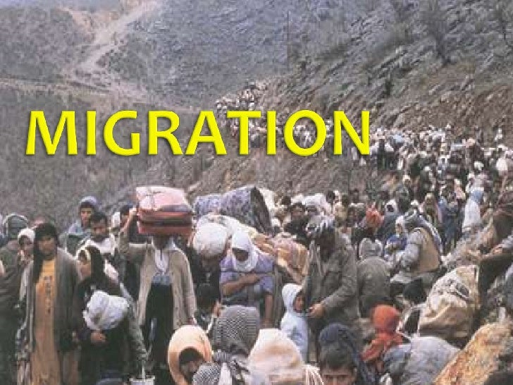    Migration as part of the population change     Types, definitions, patterns and causes   Internal Migration   Exter...