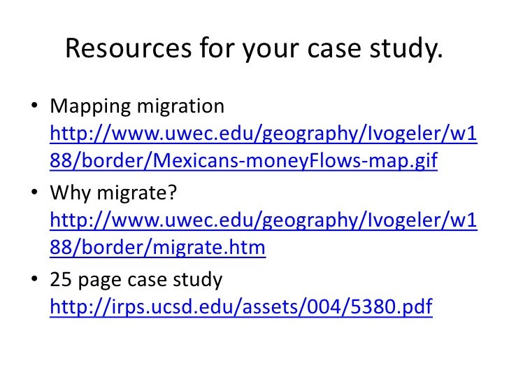 geography ib migration case study Mr uden's ib geography site  movement responses - migration gender and change wealth and development  nigeria case study task: using the links posted.