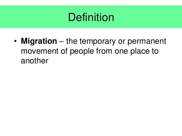 Migration Slide 2
