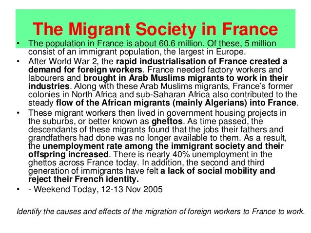 causes of voluntary migration The great migration was the relocation of more than 6 million african americans from the rural south to the cities of the north, midwest and west from about 1916 to 1970 driven from their homes .