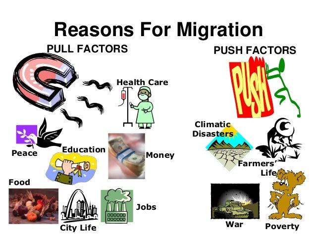 Factors of migration