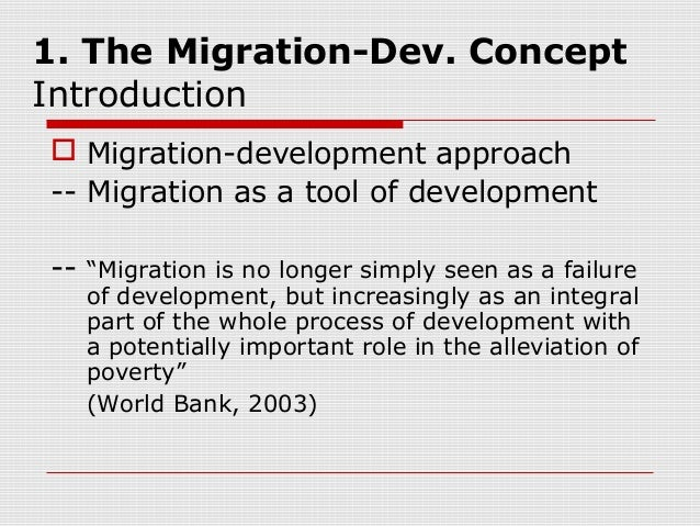 migration from developing countries essay Ch 13: internal migration in developing countries 12 concepts and patterns of migration it will be useful, at the outset, to establish some of the broad patterns which character.
