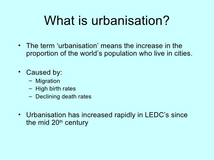 short speech on impact of urbanisation Speech on deforestation: causes, effects and conservation article shared by advertisements: deforestation is decrease of forest cover of an area.