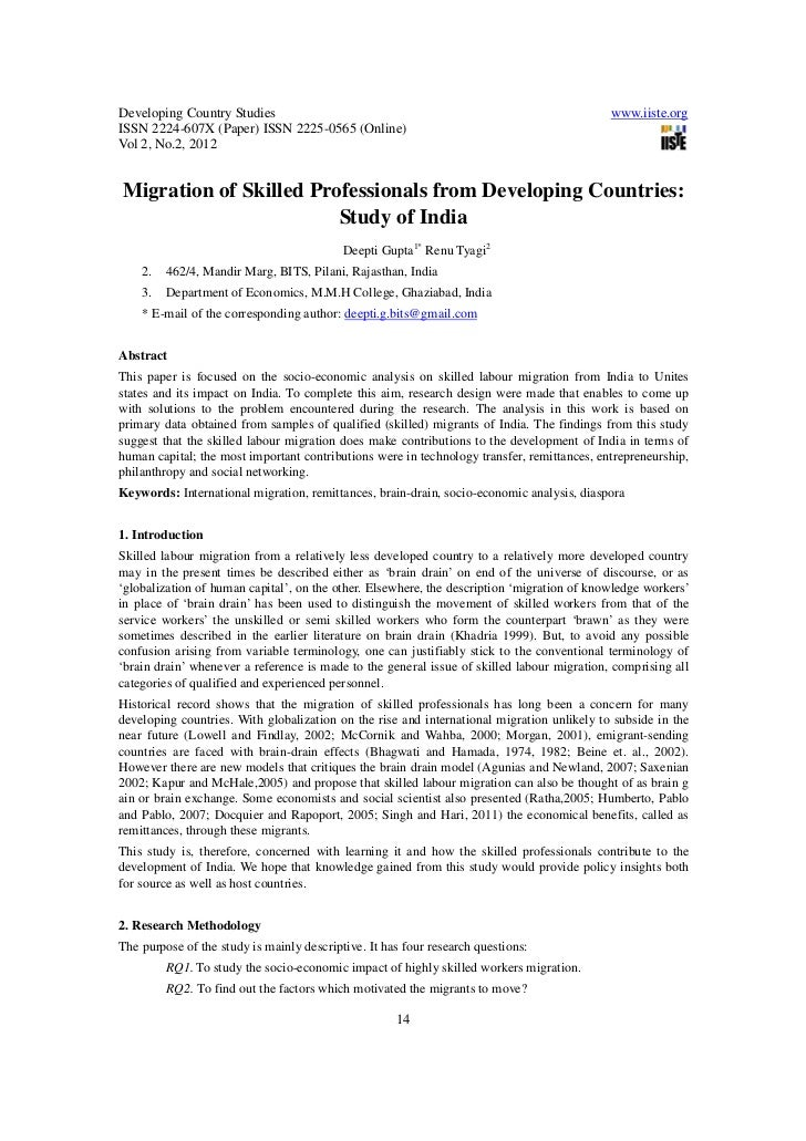 Developing Country Studies                                                                  www.iiste.orgISSN 2224-607X (P...