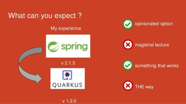 What can you expect ? My experience v 2.1.5 v 1.2.0 opinionated option magistral lecture something that works THE way