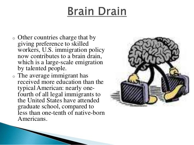 braindraining the movement of people from The brain drain from developing countries  internal movement of workers became reclassified as international migration after 1990  millions of people figure 3 .