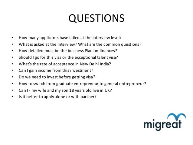 interview with an entrepreneur