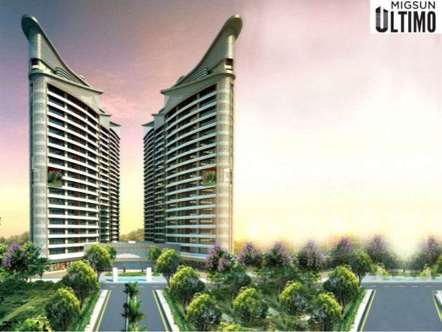 INTRODUCTION • Migsun Group an ongoing residential project Migsun Ultimo. • Migsun Ultimo having 6.5 acres of land area lo...