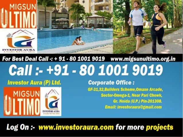 Investor Aura (P) Ltd.  is committed to offer  dependable and  professional services  in the field of real  estate aimed a...