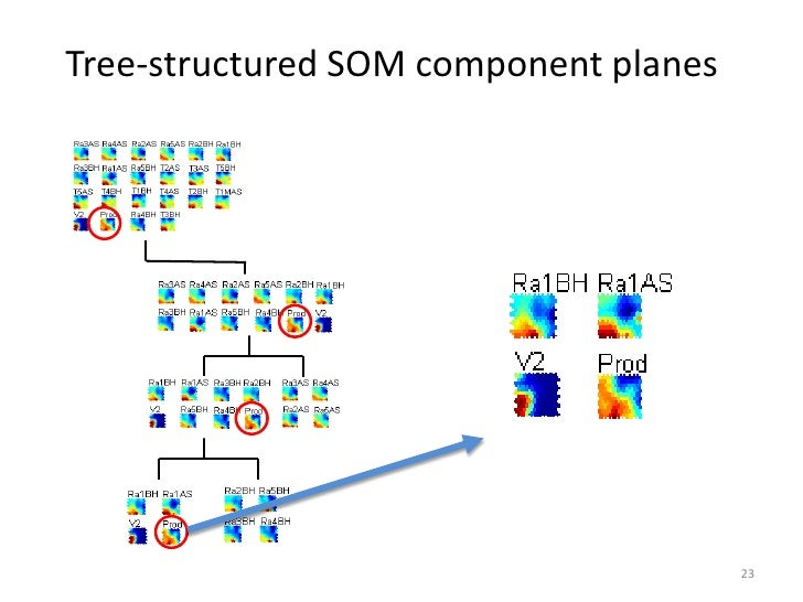 Tree-structured SOM component planes                                       23