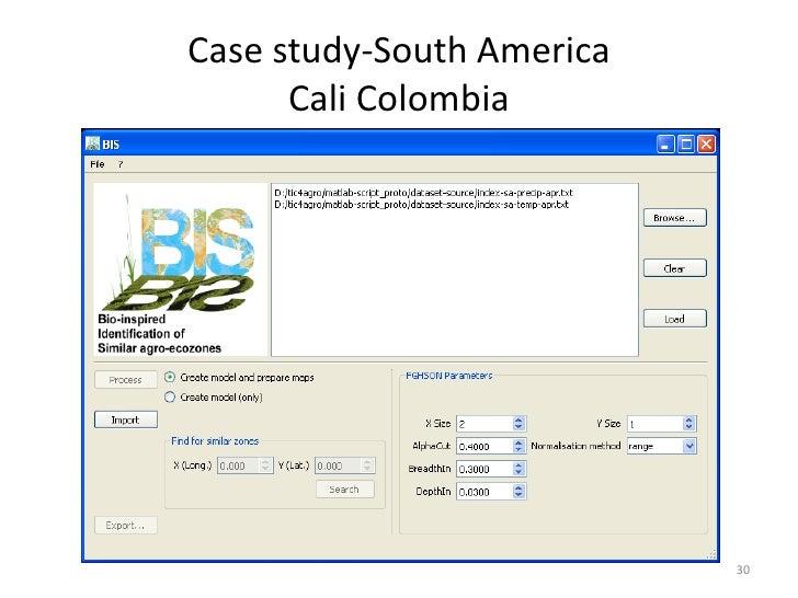 Case study-South America      Cali Colombia                           30
