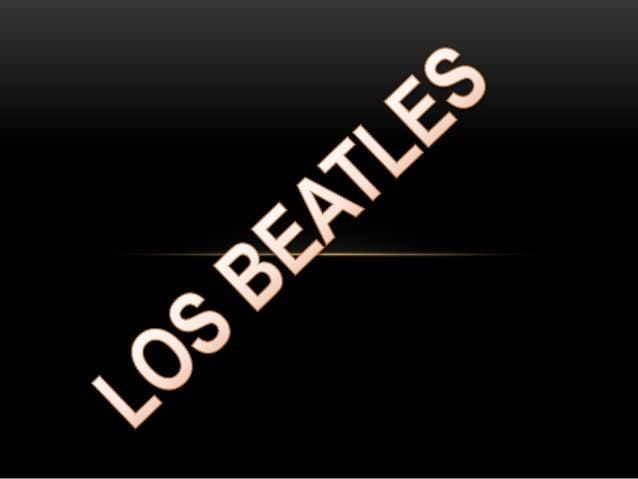 The Beatles fue una banda de rock inglesa activadurante la década de 1960, y reconocida como la másexitosa comercialmente ...