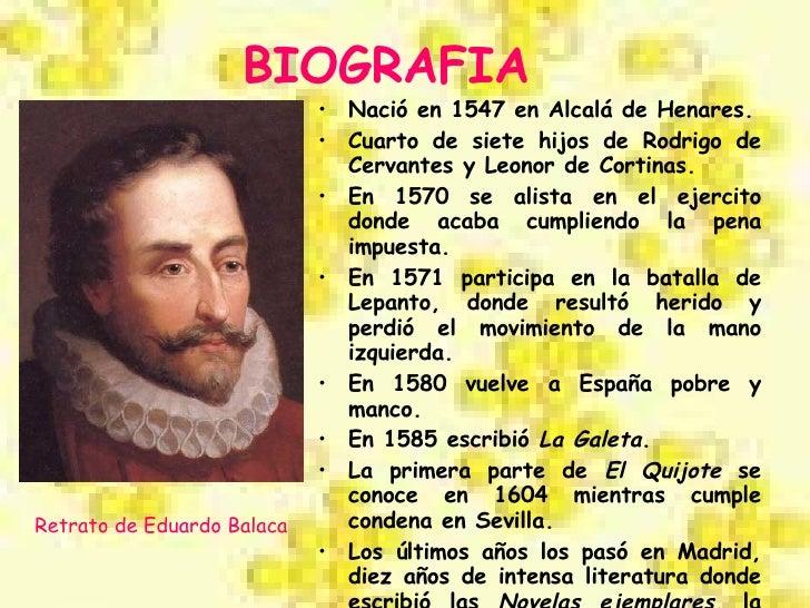 Miguel De Cervantes Slide 2