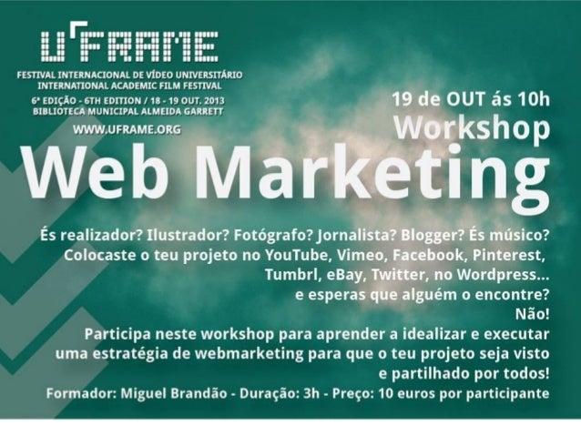 Miguel Brandão V.N.Gaia  • Licenciado em Marketing, Publicidade e Relações Públicas. • Mais de 9 anos de experiência profi...