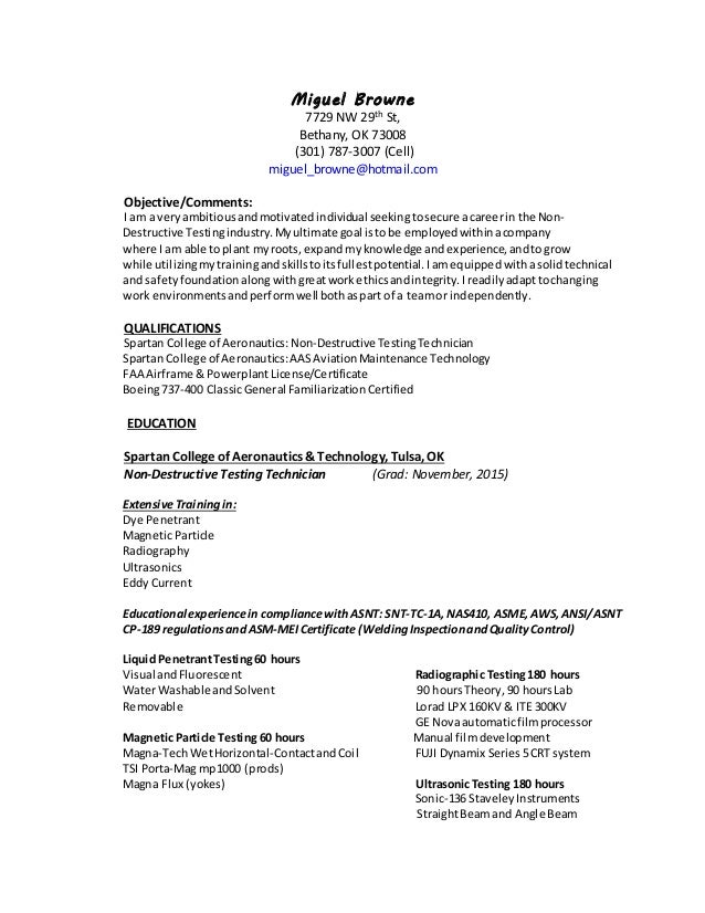 Qa Sample Resume With Dt
