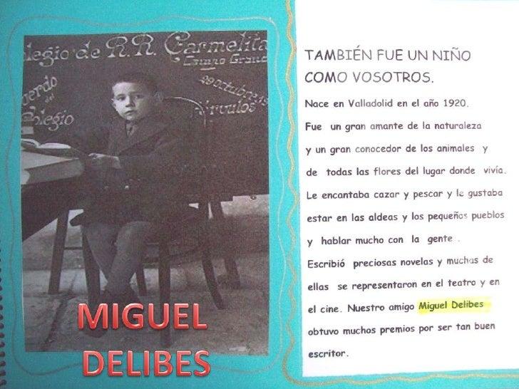 MIGUEL<br />DELIBES<br />