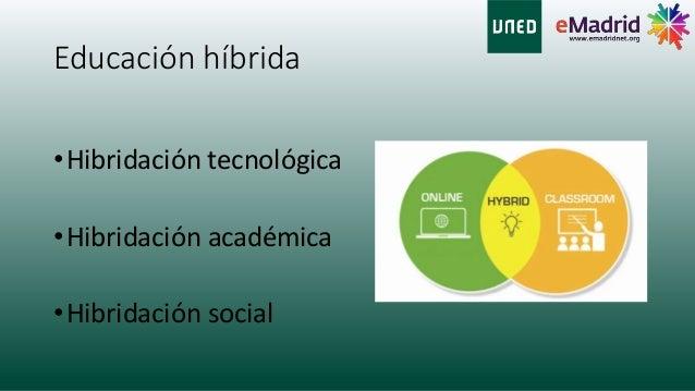 El reto de la educación híbrida Slide 2