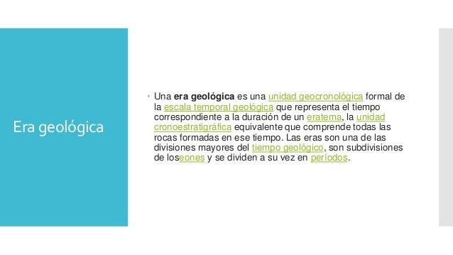 Eras geológicas Slide 2