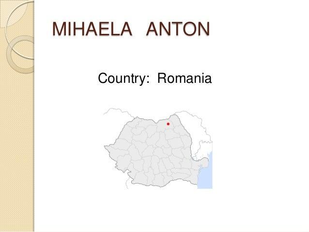 MIHAELA ANTONCountry: Romania