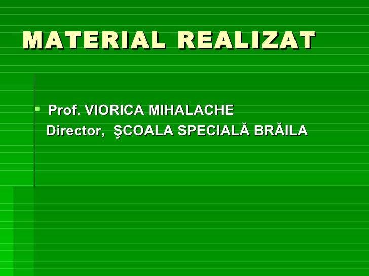 Mihalache Viorica Braila Exemple De Bune Practici