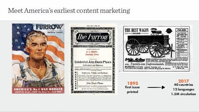 MeetAmerica'searliestcontentmarketing 1895 first issue printed 2017 40 countries 12 languages 1.5M circulation