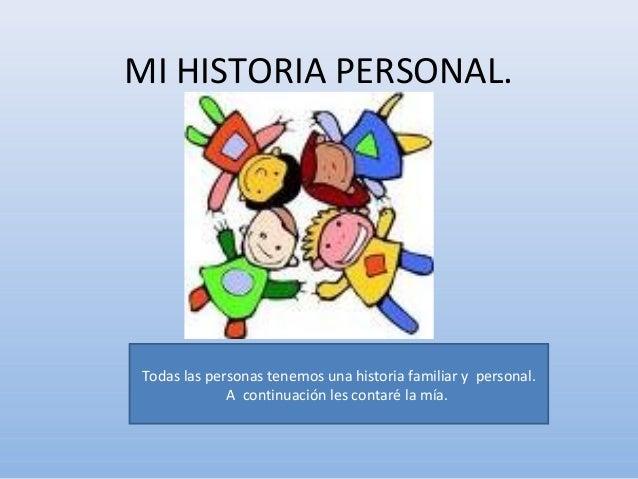 Mi historia personal
