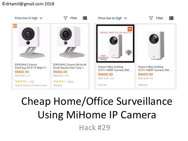 Hack#29 - Mi Home IP Camera System