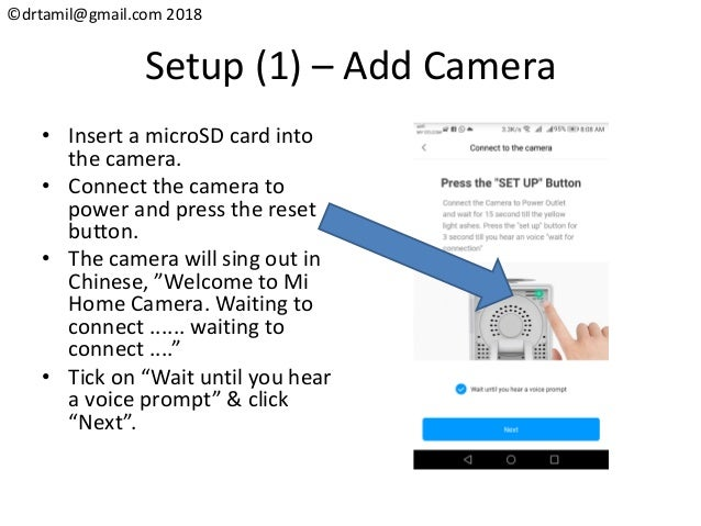 Hack#29 - Mi Home IP Camera System