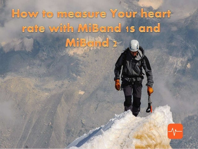 Mi Heart Rate app • works with Mi Band 1s