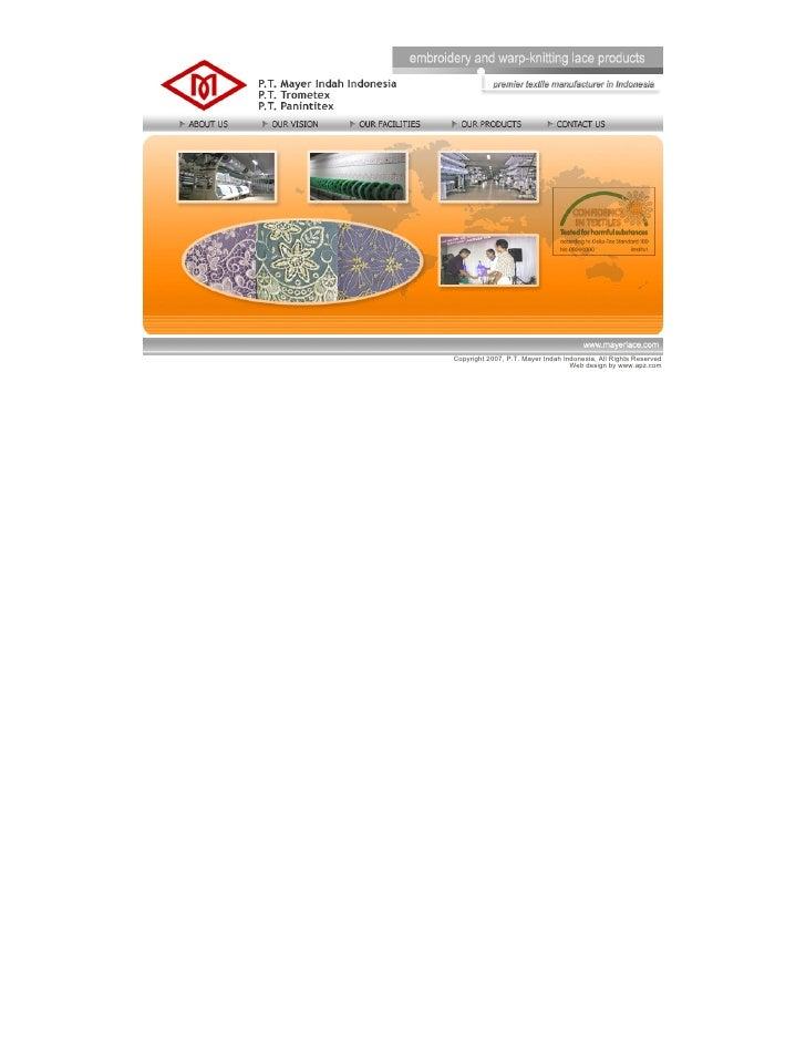 Copyright2007,P.T.MayerIndahIndonesia,AllRightsReserved                                        Webdesignbywww.a...