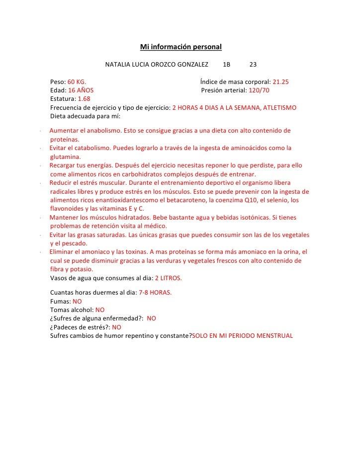 """HYPERLINK """"http://queycomocomemos4.blogspot.com/2011/10/mi-informacion-personal.html"""" Mi información personal<br />NATALI..."""