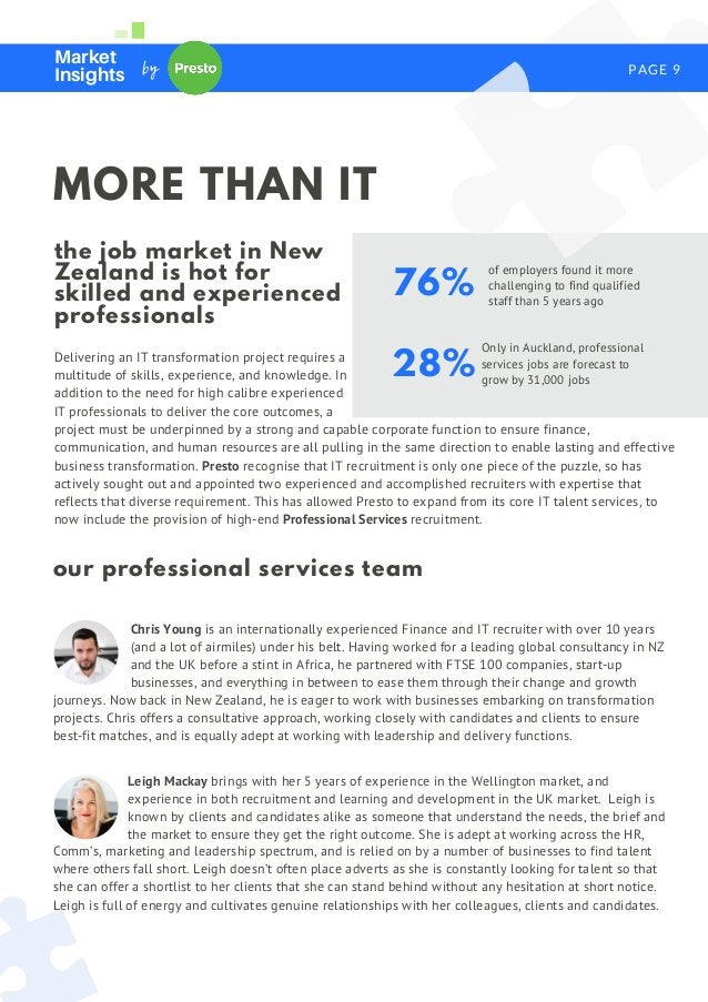 PAGE 9 Market Insights by Delivering an IT transformation project requires a multitude of skills, experience, and knowledg...