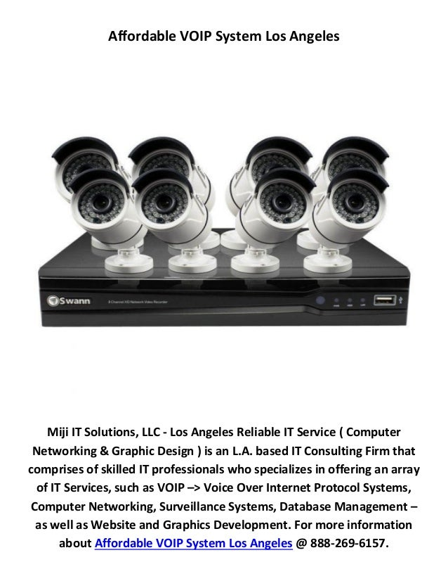 Miji IT Solutions, LLC : Affordable VOIP System in Los