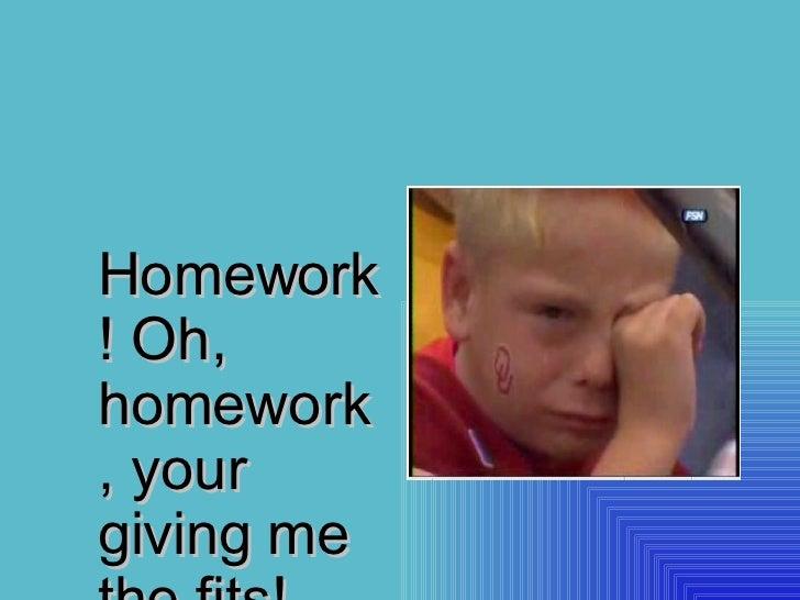 homework oh homework by jack prelutsky analysis