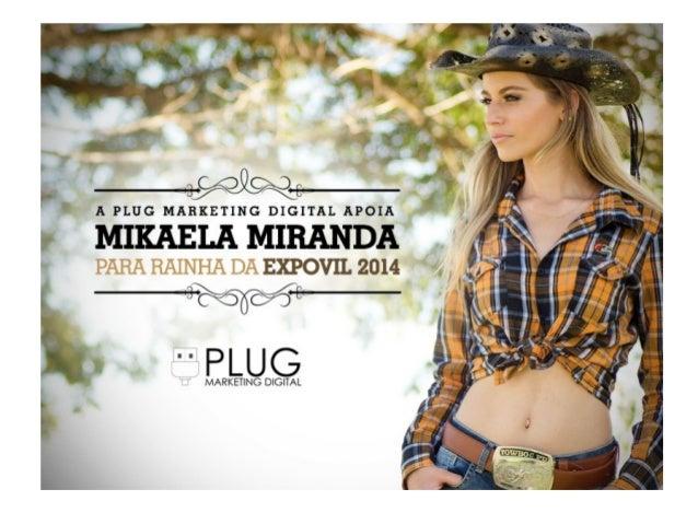 Mikaela Miranda - Candidata à Rainha da Expovil 2014 - Vilhena