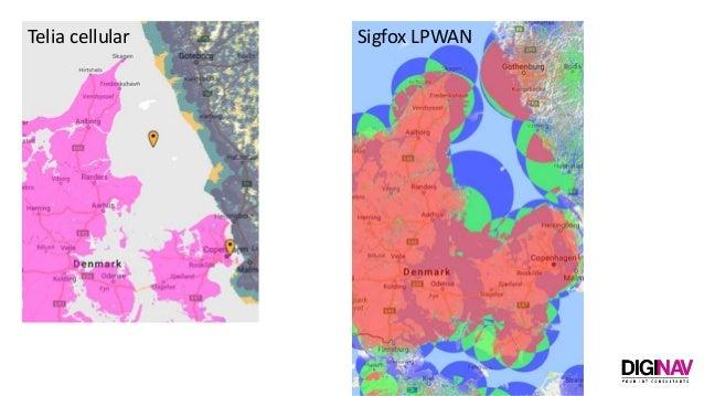 Telia cellular Sigfox LPWAN