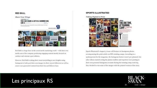 Les principaux RS 54 Pinterest Nombre de membres : 48,7 millions Croissance en 2012 : +2702% 65 à 80% des usagers sont des...