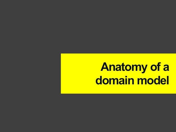 Anatomy of adomain model