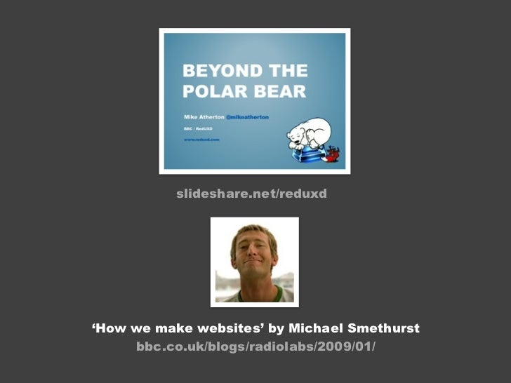 Mike Atherton - Domain modelling at the BBC
