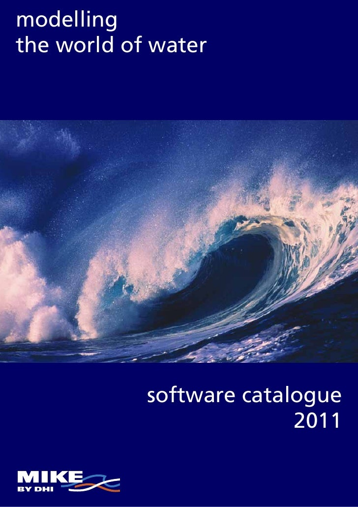 modellingthe world of water            software catalogue                          2011